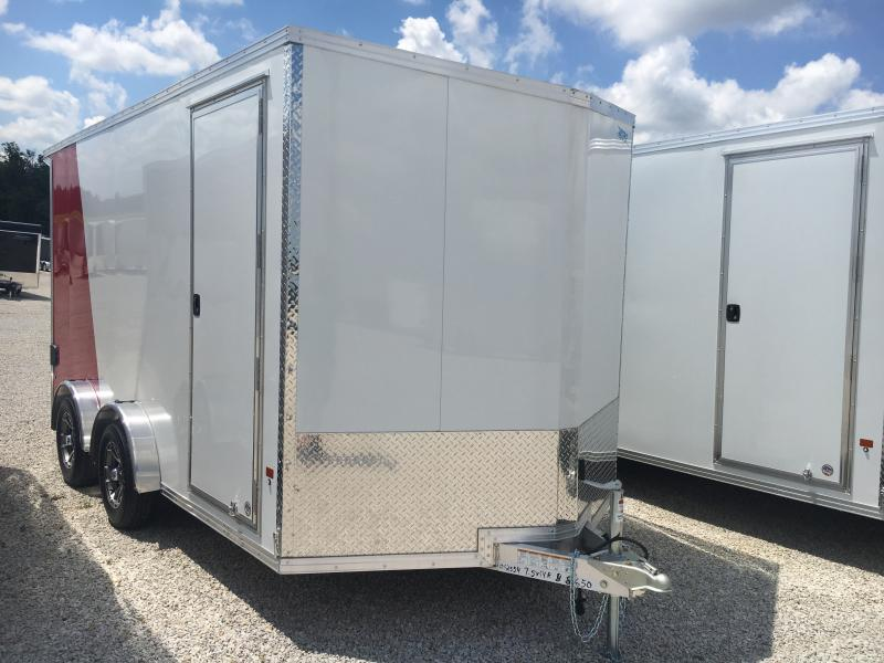 2019 EZ Hauler 7.5X14 Enclosed Aluminum Ramp Door TA Trailer