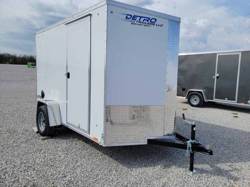 2022 Pace American 6X10 Rear Ramp Door Enclosed Cargo Trailer