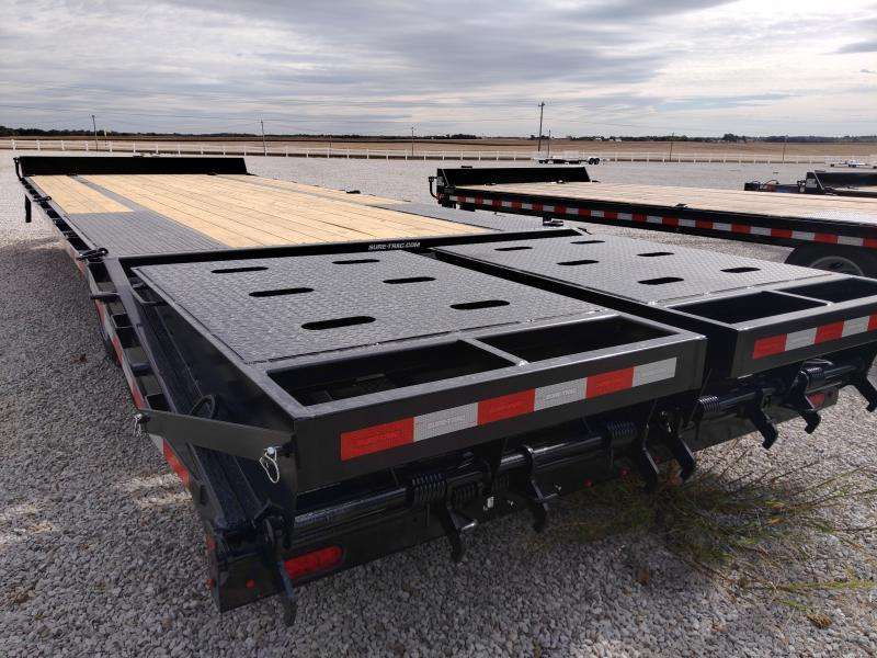 2021 Sure-Trac 8.5x20+5 HD Low Profile 17.6K Beavertail Deckover