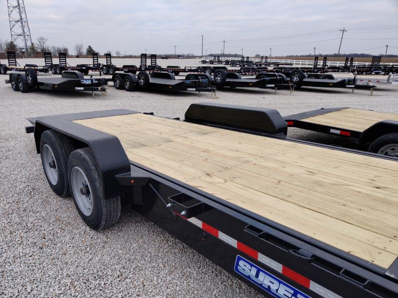 2021 Sure-Trac 7x18+4 Tilt Bed 16K Equipment Trailer