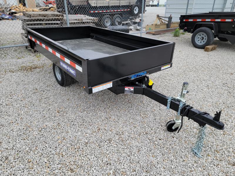 2021 Sure-Trac 4.5x8 3K Utility Dump Trailer