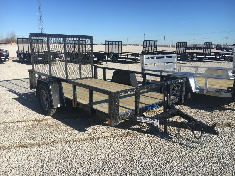 2021 Rhino 6x10 Steel Utility Trailer