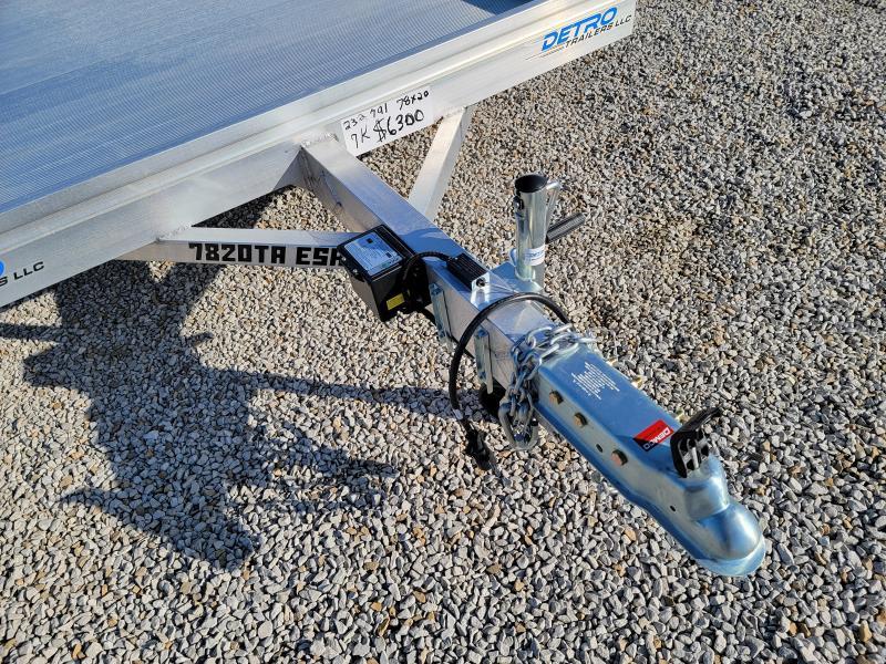 2022 Aluma 7820TA-ESA Utility Trailer