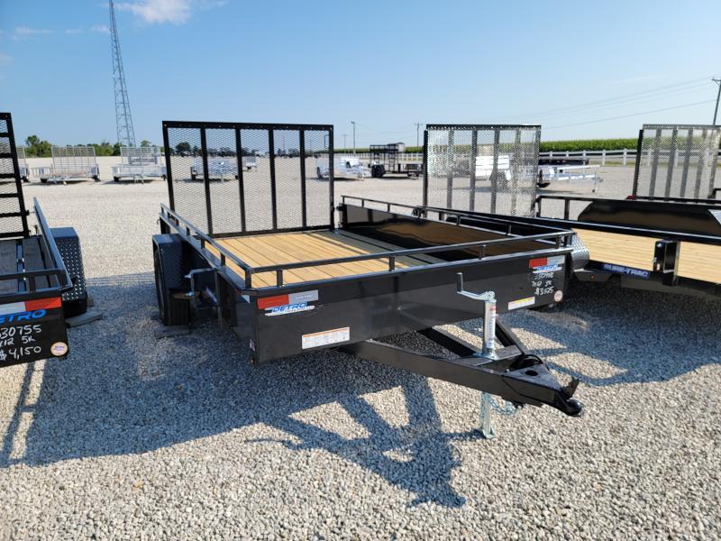 2021 Sure-Trac 7x12 Steel High Side 3K Idler Trailer