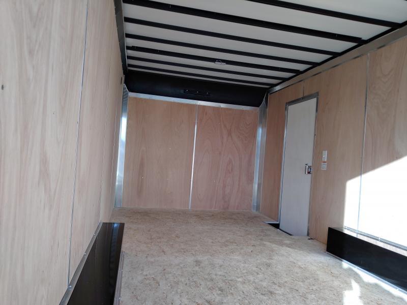 2021 Sure-Trac 8.5x18 Contractor Pro Double Rear Door Enclosed Trailer