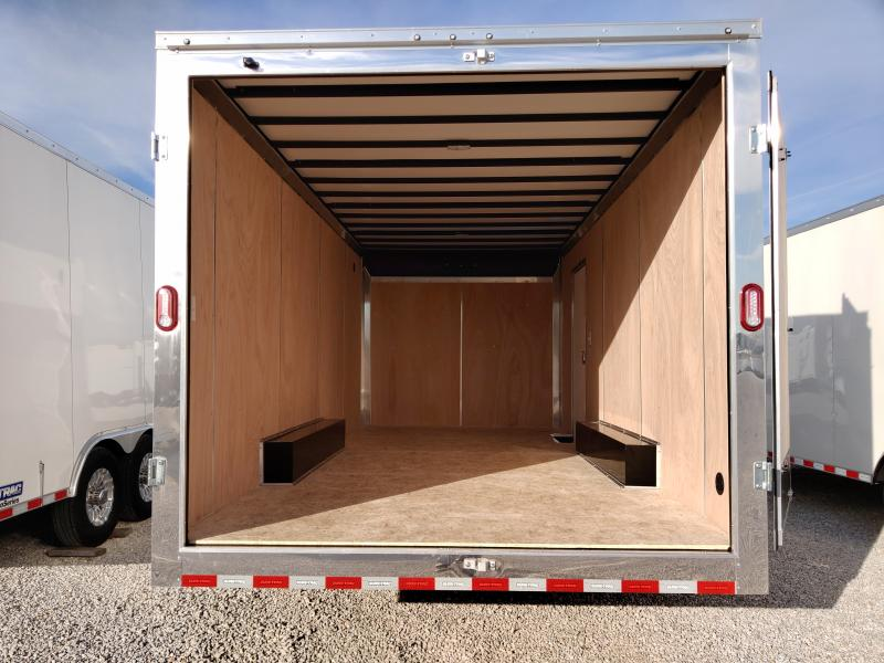 2021 Sure-Trac 8.5x18 Contractor Pro Double Rear Door Enclosed Trailer