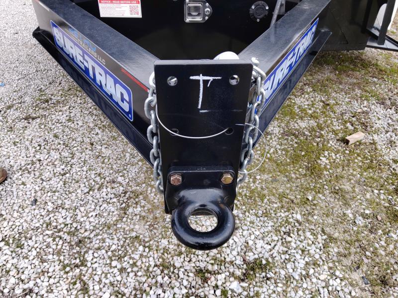 2019 Sure-Trac 102x22+4 Deckover Tilt Tandem Pintle 17.6k