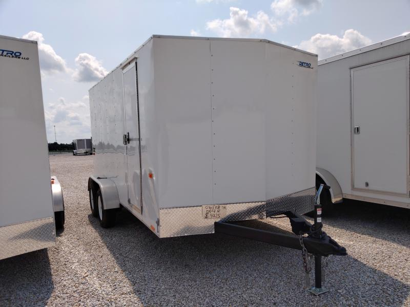2021 Cargo Express 7X14 7K Ramp Door Enclosed Trailer