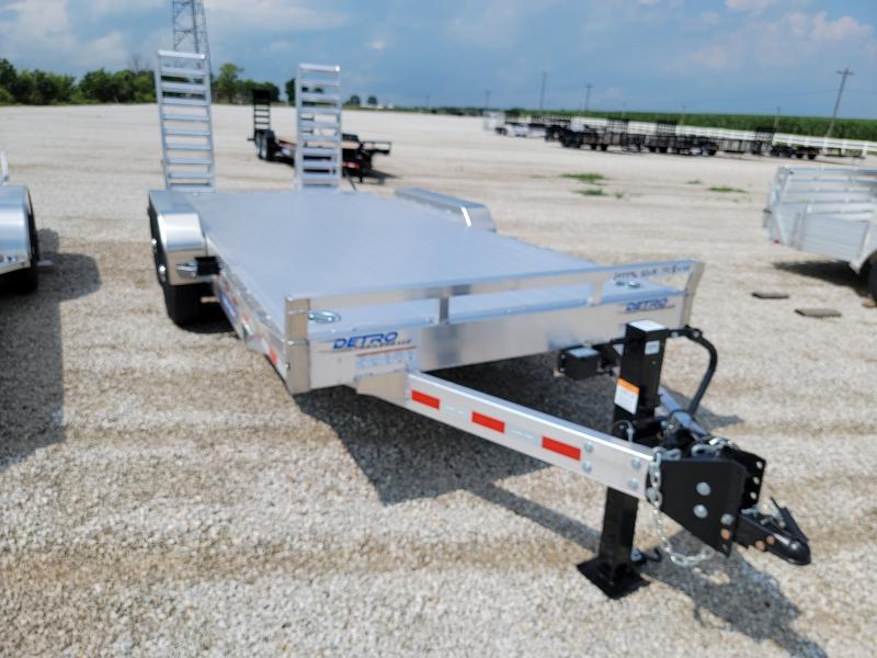 2021 Sure-Trac 82x18 14K Aluminum Deck Equipment Trailer