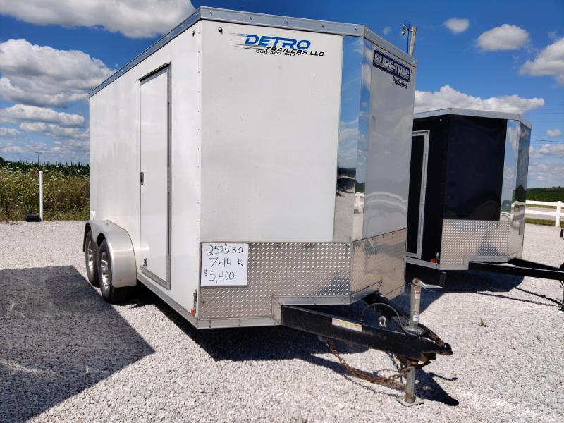 2019 Sure-Trac 7X14 Enclosed Ramp Door 10K Trailer