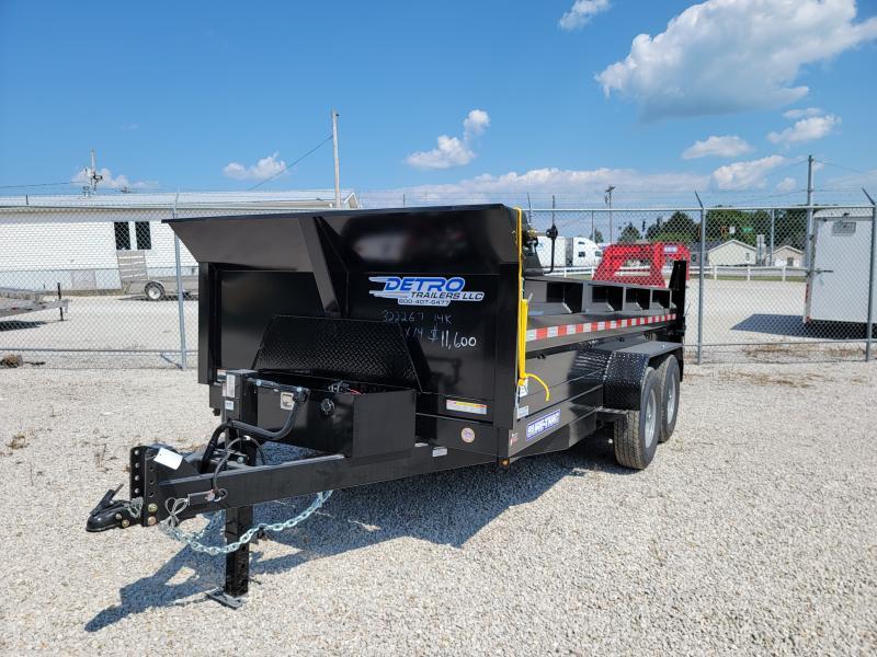 2021 Sure-Trac 82x14 HD Low Profile 14K Dump Trailer