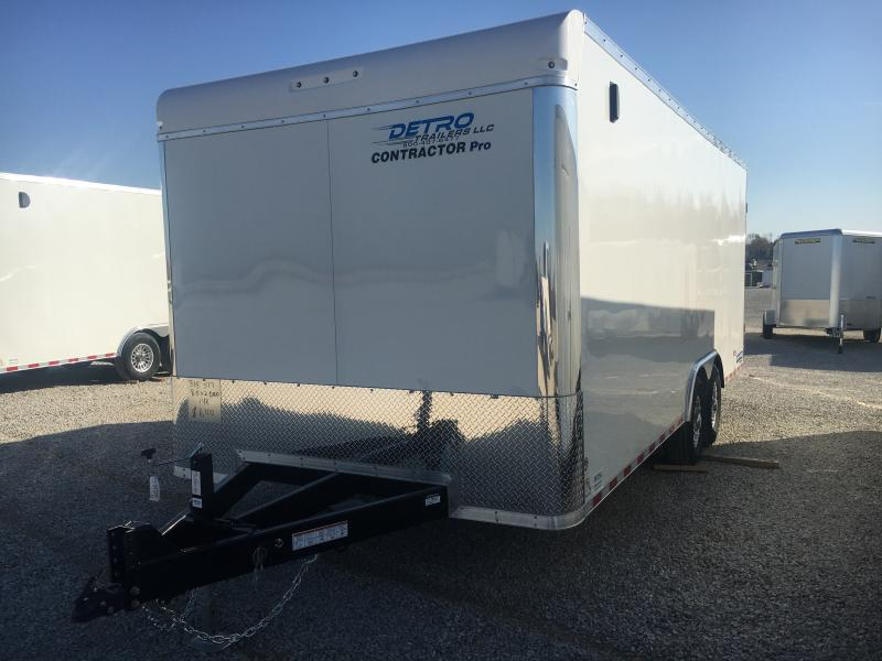 2021 Sure-Trac 8.5x20 Contractor Pro 14K Ramp Door Trailer