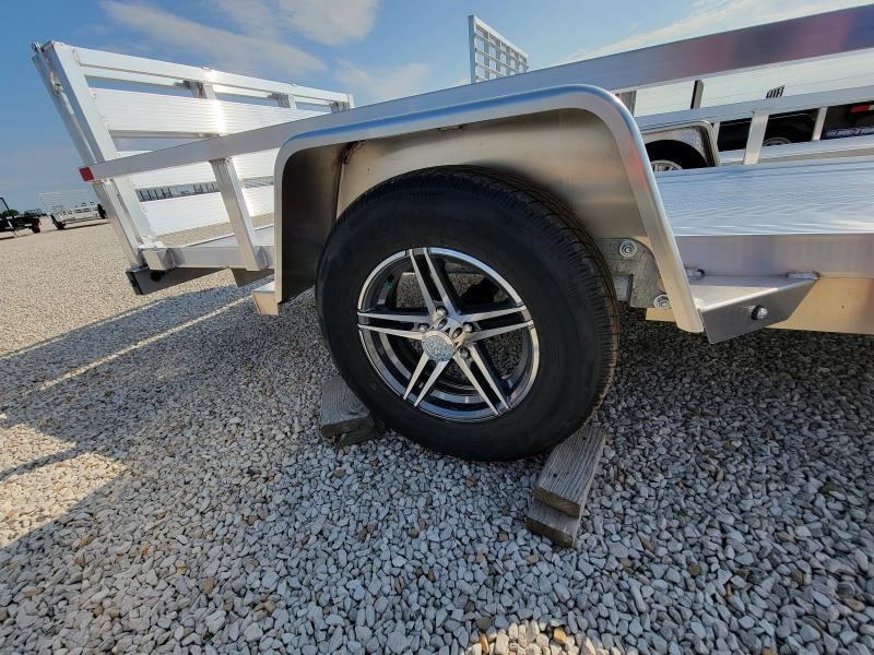 2022 Sure-Trac 6x12 Aluminum 3K Tube Top Utility Idler