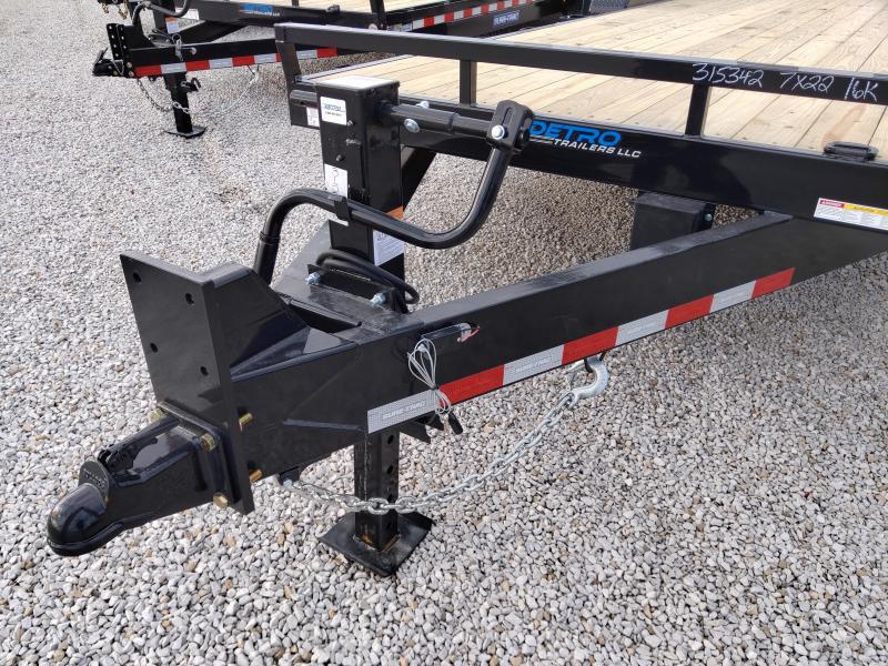 2021 Sure-Trac 7x20+2 16K Equipment Trailer
