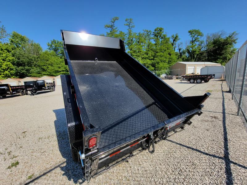 2021 Sure-Trac 6x10 SD Low Profile 7K Single Ram Dump Trailer