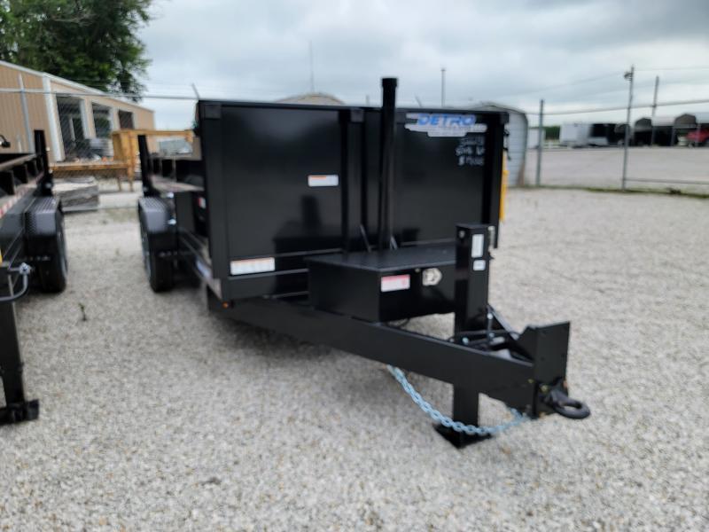 2021 Sure-Trac 82x16 HD Telescopic 16K Dump Trailer w/ Hydraulic Jack
