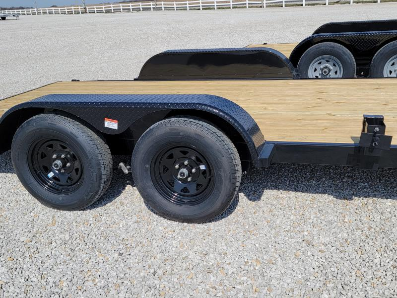 2021 Rhino Trailers 7X16 Open 7K Car Hauler
