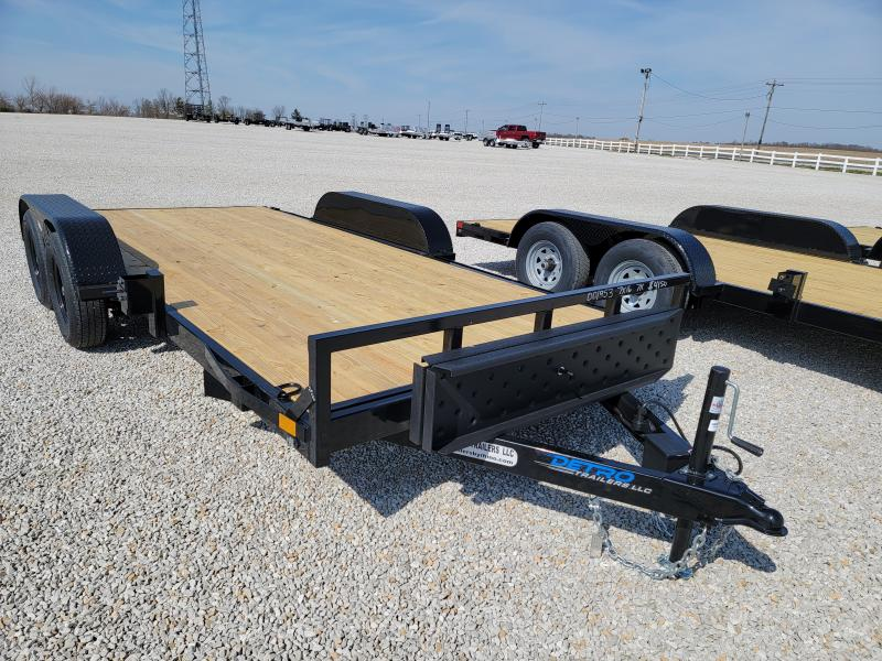 2021 Rhino Trailers 7X16 Open Car Hauler Trailer