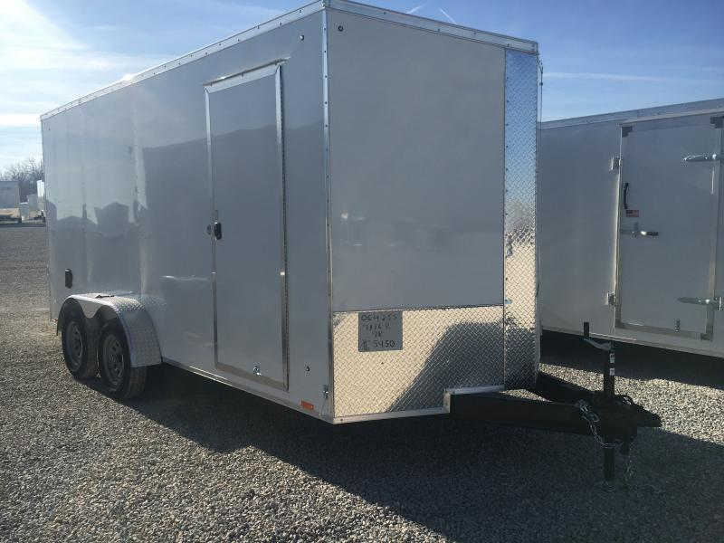 2021 Cargo Express 7x16 Enclosed TA 7K Trailer