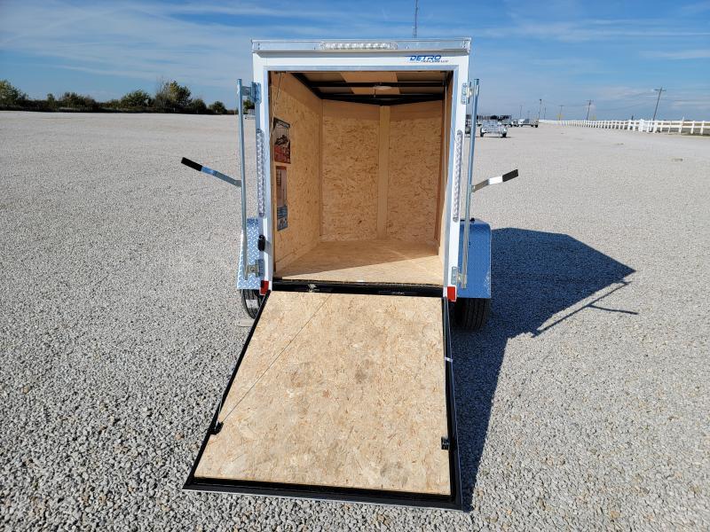 2022 Cargo Express 4x6 Enclosed Ramp Door Trailer