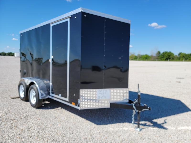 2022 Cargo Express 6X12 Ramp Door Enclosed Trailer