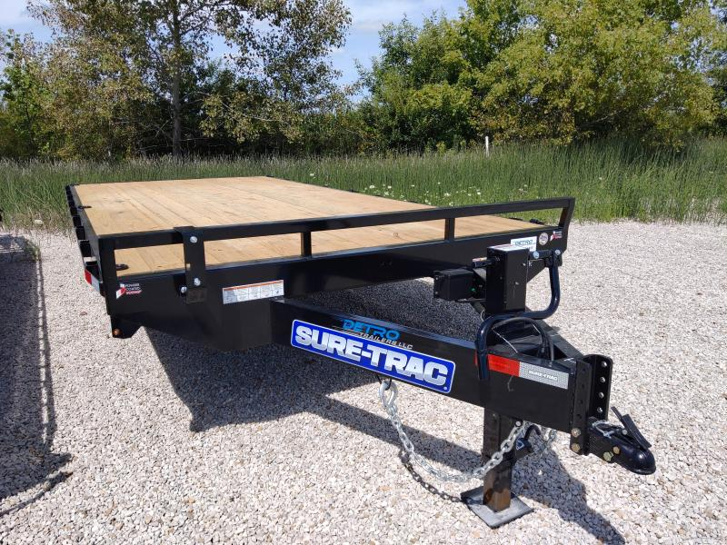 2021 Sure-Trac 8.5x18 Standard Duty Flatbed Deckover