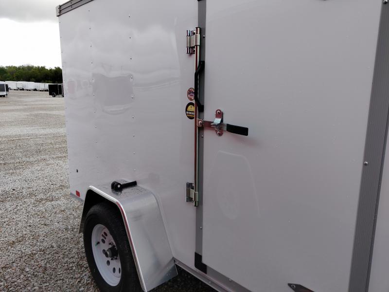 2020 United 5X10 Enclosed Ramp Door Trailer