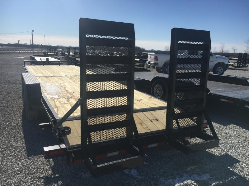 2021 Sure-Trac 7x22+2 16K Equipment Trailer