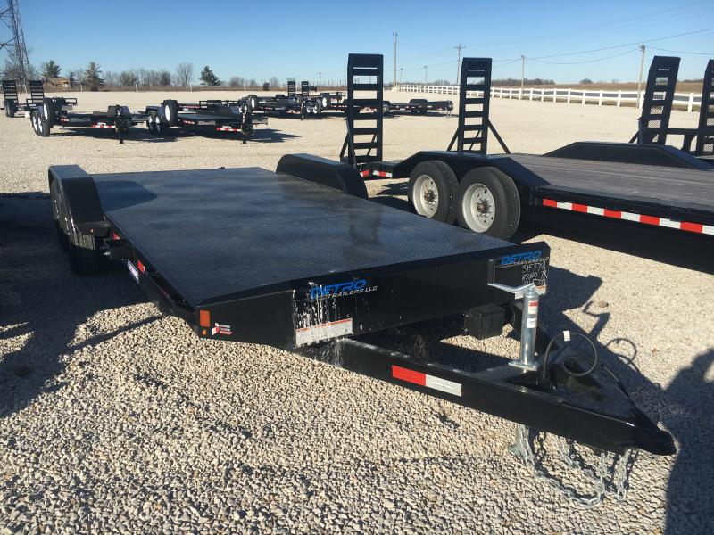 2021 Sure-Trac 7x16+4 Steel Deck 7K Car Hauler