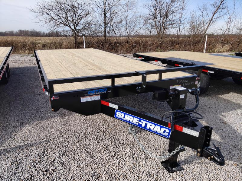 2021 Sure-Trac 8.5x20 Std Duty Flat Deck Deckover - NO RAMPS
