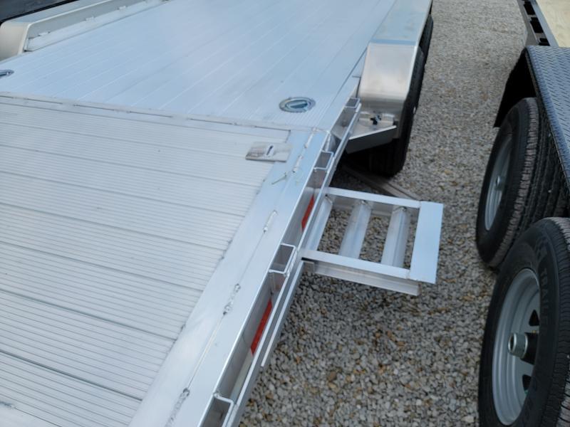 2021 Sure-Trac 7x20(16+4) C-Channel Aluminum Car Hauler