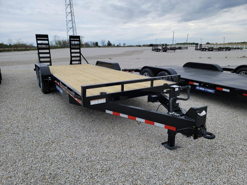 2021 Sure-Trac 7x20(18+2) 16K Equipment Trailer