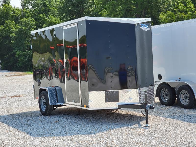 2022 Cargo Express 6x12 Double Rear Doors Enclosed Trailer