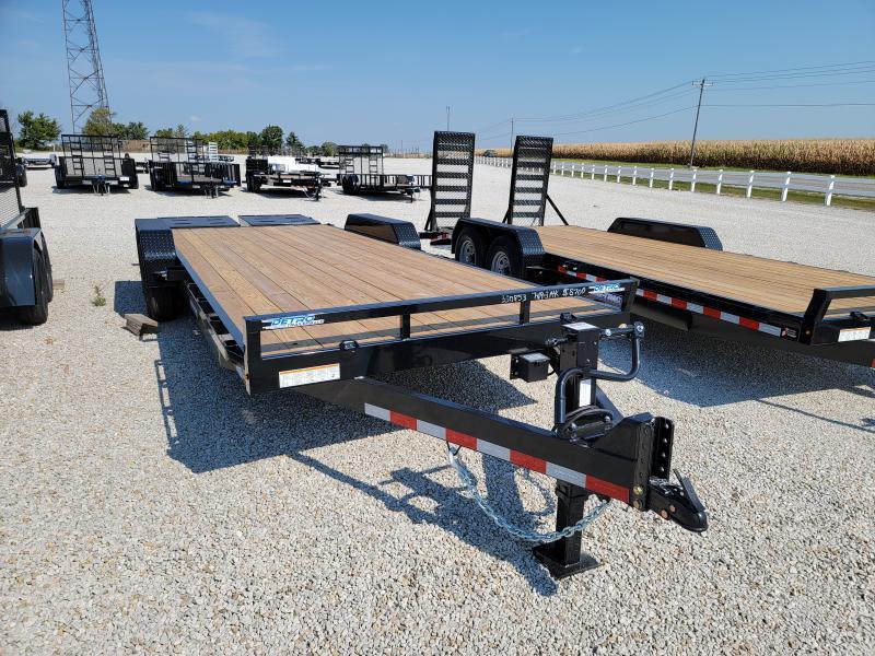 2021 Sure-Trac 7x22(19+3) 14K Universal Ramp Equipment Trailer