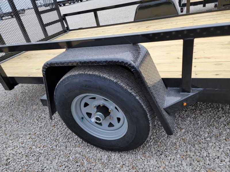 2021 Sure-Trac 7x14 Tube Top 5K ATV Trailer w/ Brakes