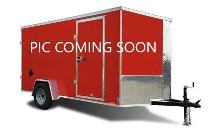 2021 Cargo Express 7x12 SA Enclosed Ramp Door Trailer