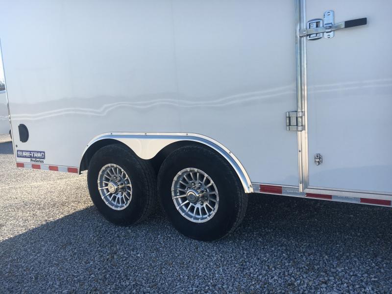 2021 Sure-Trac 8.5x16 Contractor Pro Enclosed 14K Ramp Door Trailer