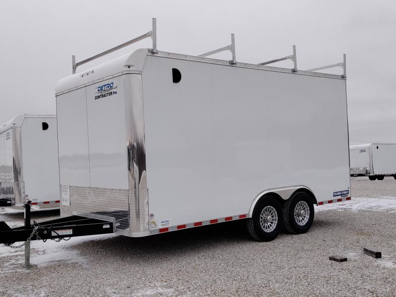 PENDING - 2021 Sure-Trac 8.5x16 Contractor Pro Enclosed 14K Ramp Door Trailer