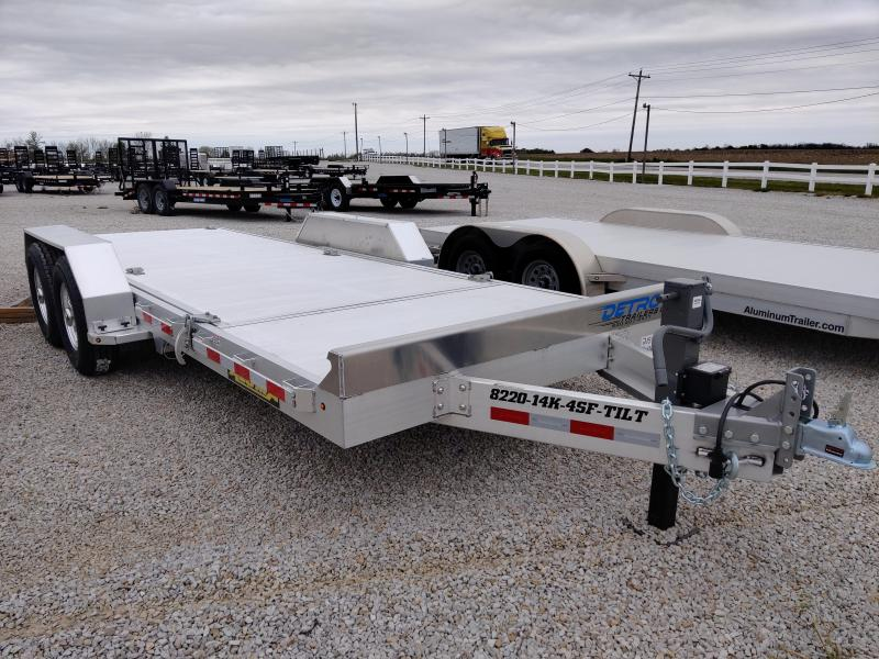 2021 Aluma 82X16+4 Tilt Deck 14K Equipment Trailer
