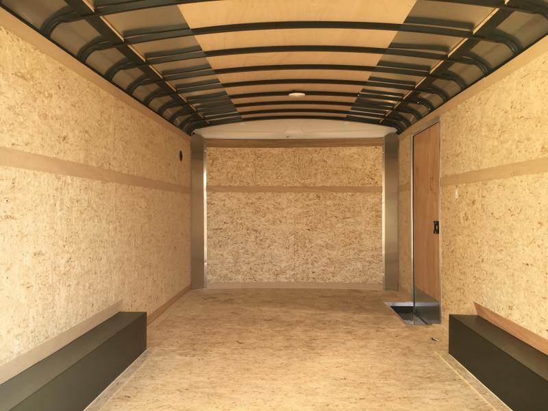 2021 Cargo Express 8.5x18 Enclosed Double Rear Door 7K Trailer