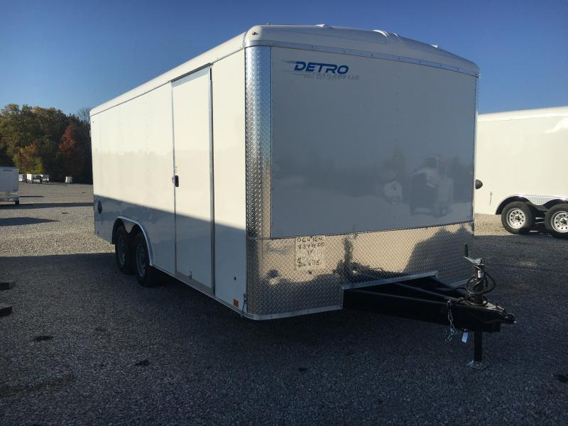 2021 Cargo Express 8.5x18 Enclosed Double Rear Door 7K Trailer