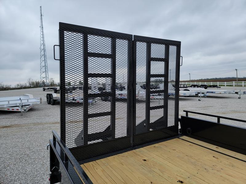 2021 Sure-Trac 7x16 10K Steel High Side Trailer