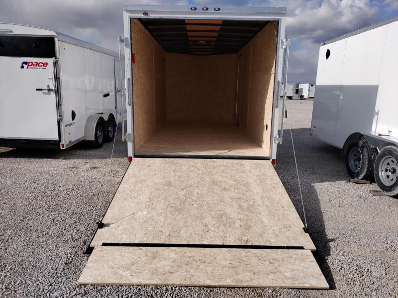 2020 Rhino Trailers 7X16 Safari Enclosed Ramp Door TA Trailer