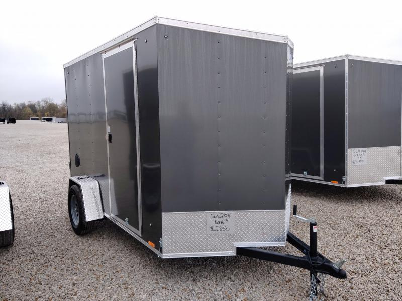 2021 Cargo Express 6x10 Enclosed Ramp Door Trailer