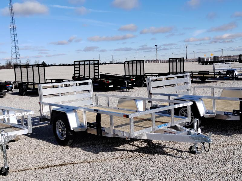 2021 Sure-Trac 5x10 Aluminum Tube Top 3K Utility Trailer