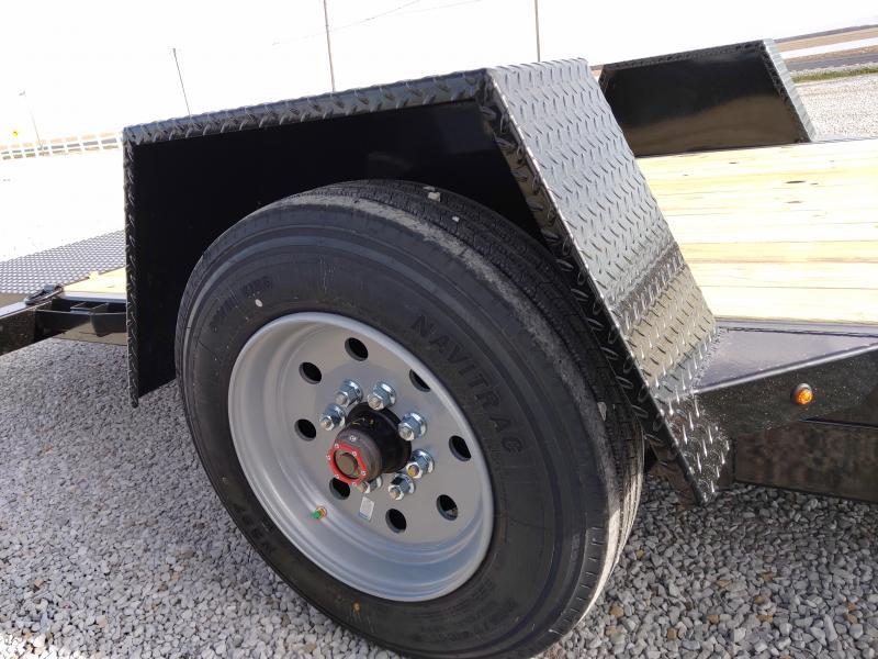 2021 Sure-Trac 78x12 Single Axle Tilt Bed Equipment Trailer