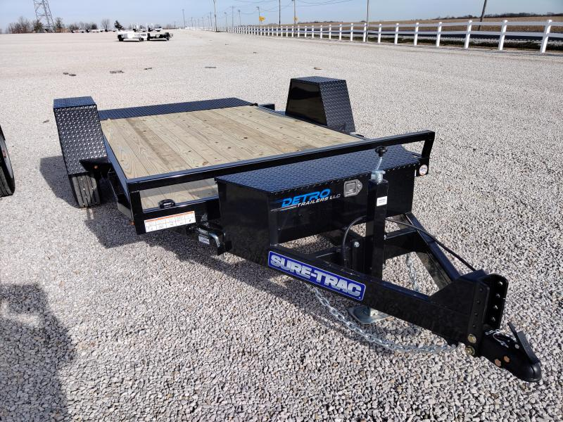 2021 Sure-Trac 78x12 Single Axle Tilt Bed Equipment Trailer