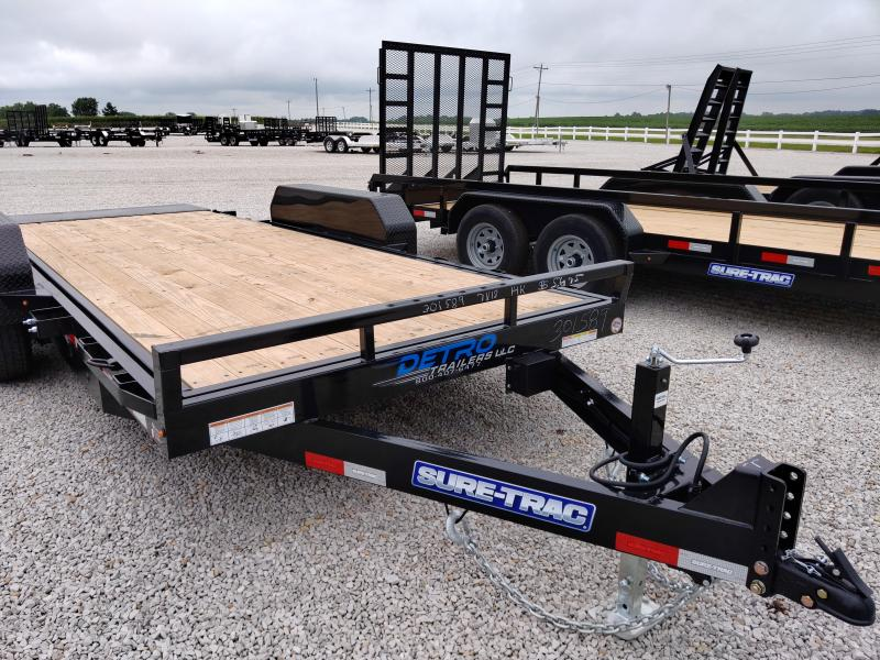 2020 Sure-Trac 7X18 Tilt Bed 14K Equipment Trailer
