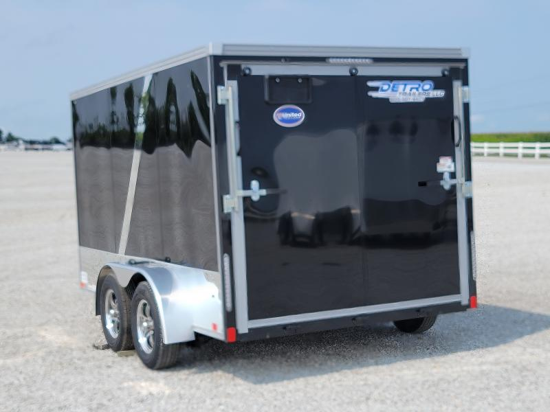 2022 United 7x12 Enclosed Motorcycle Trailer