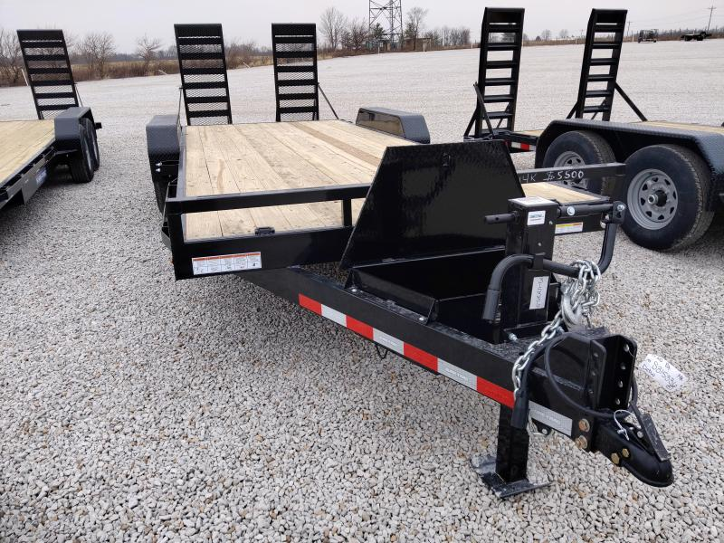 2021 Sure-Trac 7x18+2 14K Equipment Trailer